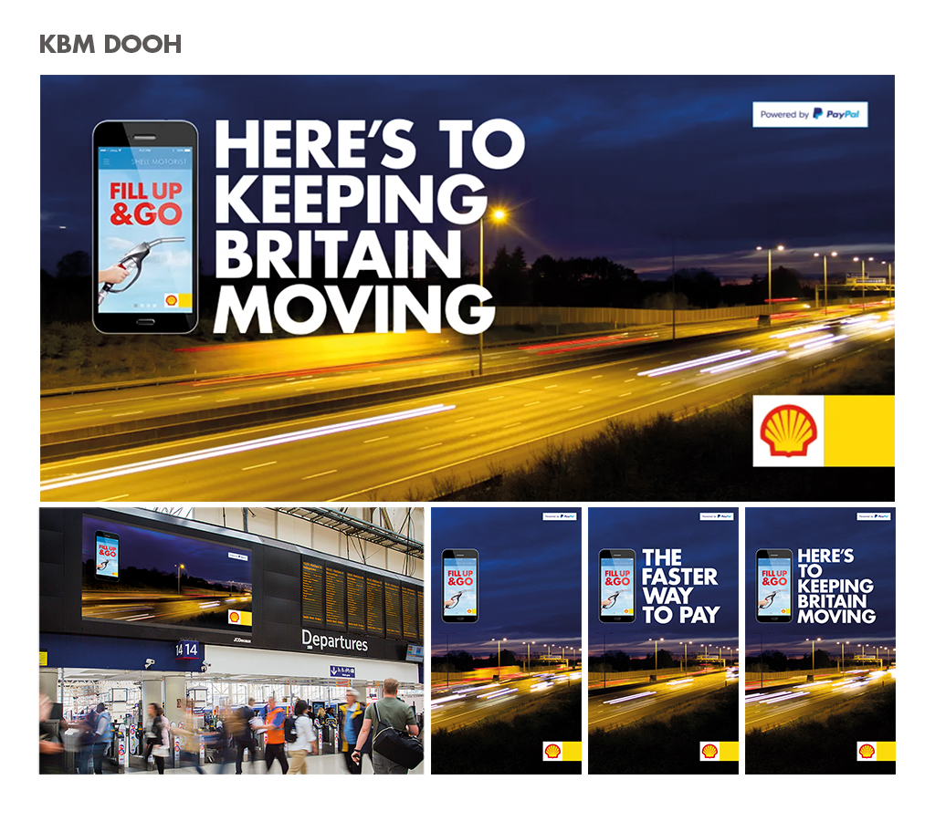 paul best_nik stewart_shell_KBM_keep Britain moving_iris_DOOH_ posters_the faster way to pay(i)