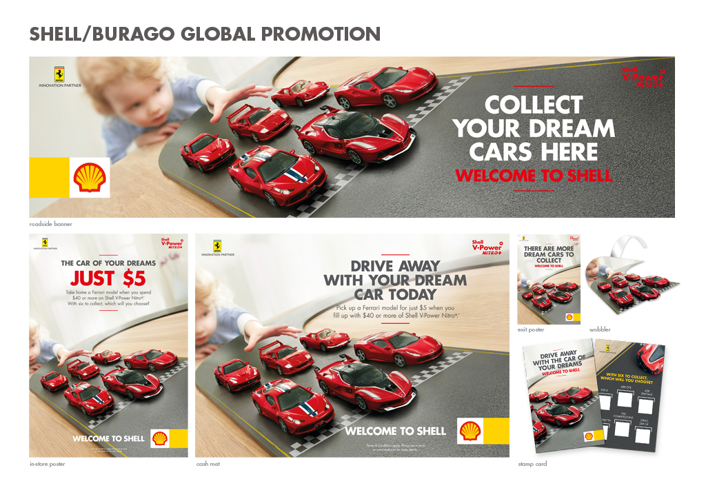 paul best_nik stewart_shell_global promotion_Bburago_iris_ferrari